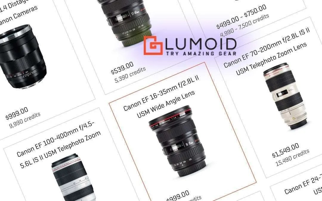 LUMOID: The Place to Rent and Buy Gear
