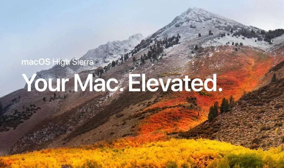 macOS 10.13.1 Update Brings Bug Fix for WPA2 NEWS