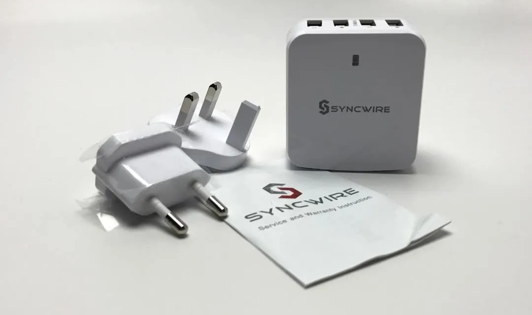 Syncwire USB Wall Charger Plug REVIEW