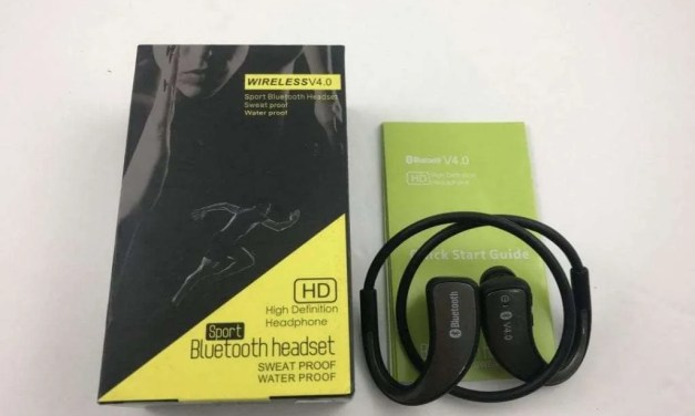Wireless Sport Bluetooth Headphone REVIEW Generic named device, variable comfort