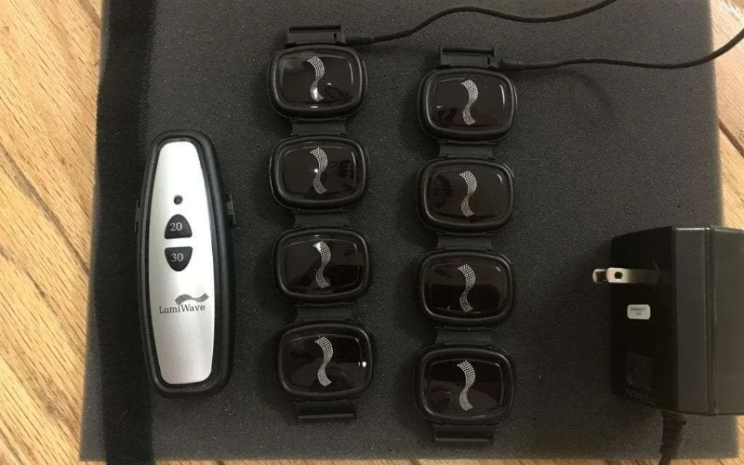 LumiWave Infrared Light Therapy Device REVIEW Relieve your aches and pains without medication