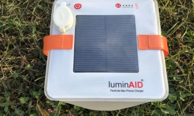 luminAID PackLite Max Phone Charger REVIEW If you are given you lumins, you should make luminAID.