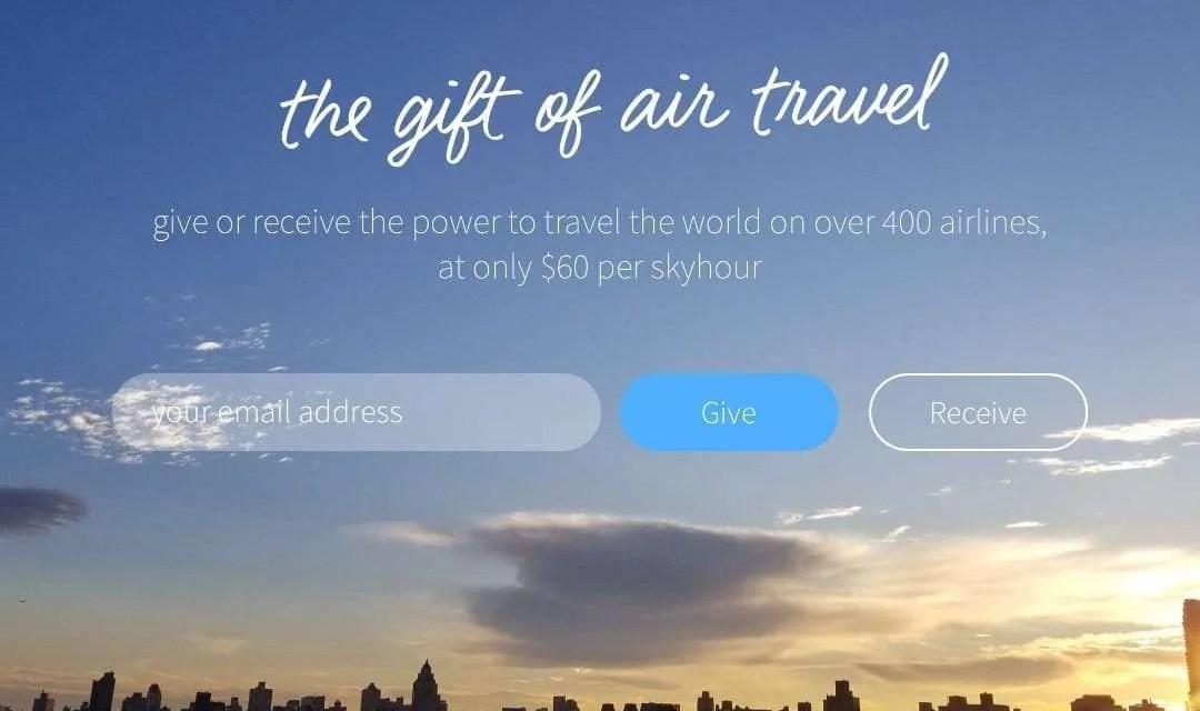Introducing Skyhour: A New Gifting Platform Transforming Air Travel NEWS