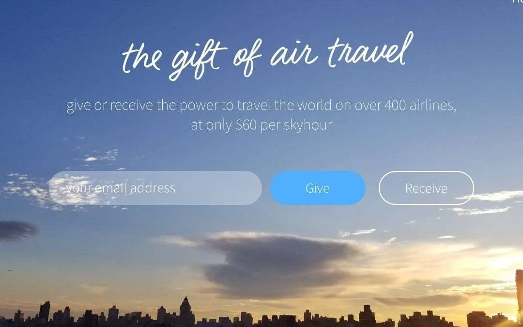 Introducing Skyhour: A New Gifting Platform Transforming Air Travel NEWS