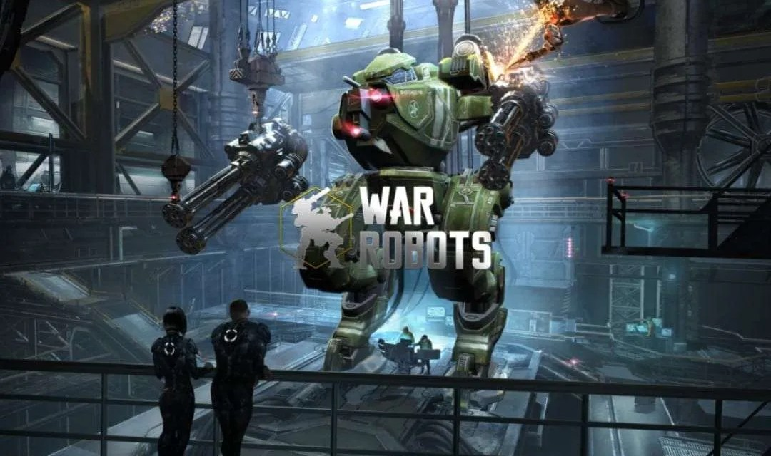 War Robots iOS Game REVIEW Crush your enemies and Capture Beacons
