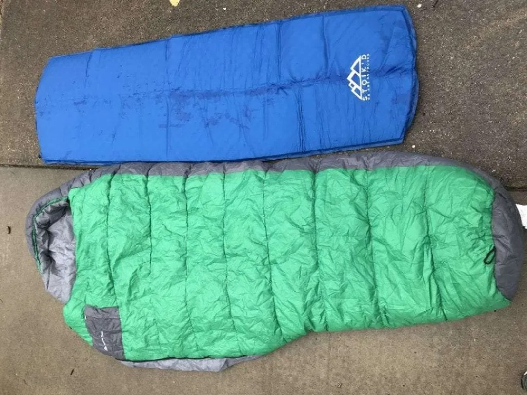 STOIKD Pad with sleeping bag