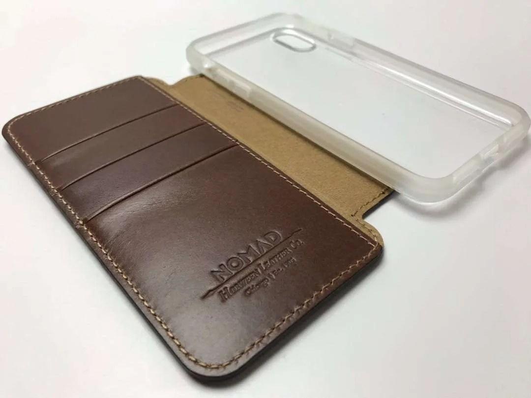 official photos 7cc23 c7d51 NOMAD Clear Folio iPhone X Case REVIEW | Mac Sources