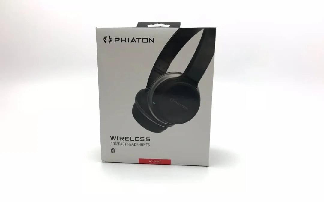 PHIATON BT390 Bluetooth Wireless Compact Headphones (Black) REVIEW
