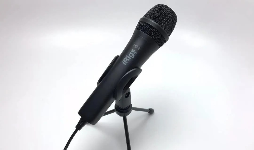 iRig Mic HD 2 REVIEW A user-friendly microphone for all content producers