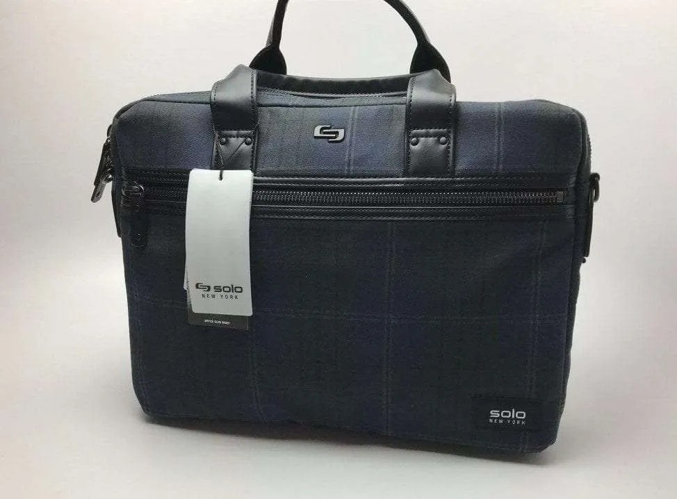 SOLO Bryce Slim Brief 15.6 Laptop Messenger Bag REVIEW