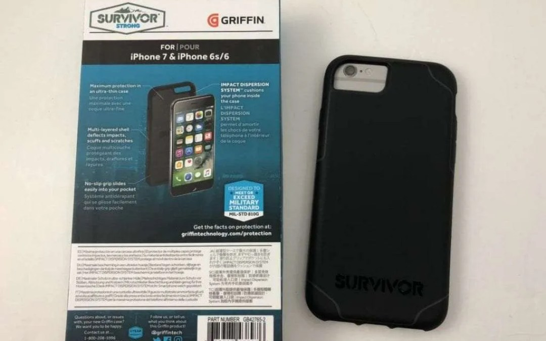 Survivor Strong iPhone 7 Case REVIEW: Minimalistic and Protective, a win-win.