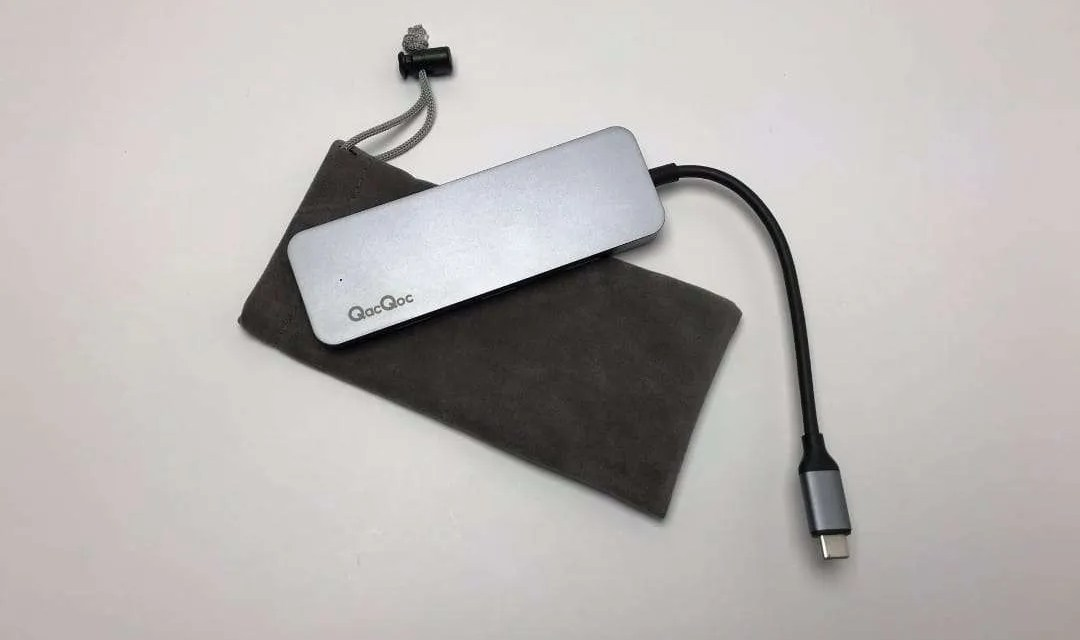 QacQoc GN30C USB C Multiport Adapter REVIEW