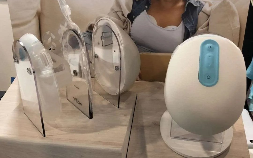 Willow Wearable Breast Pump: CES is not just for male techies.