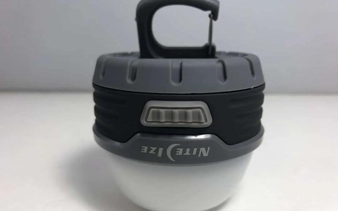 Nite Ize Radiant 100 REVIEW Mini Lantern, perfect emergency light.