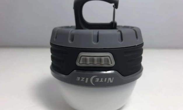 Nite Ize Radiant 100 REVIEW Mini Lantern, perfect emergency light.