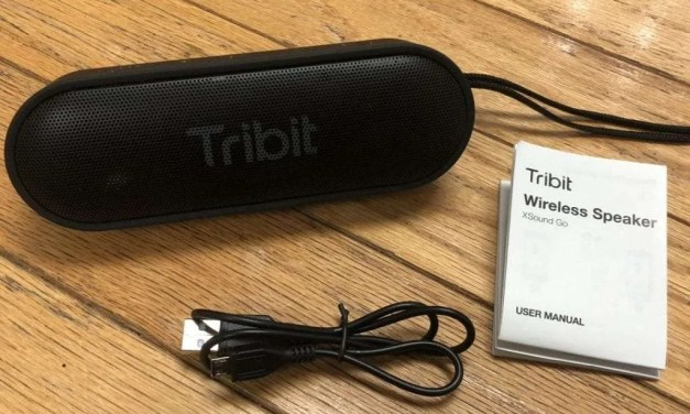 Tribit XSound Go REVIEW Fantastic Portable Sound