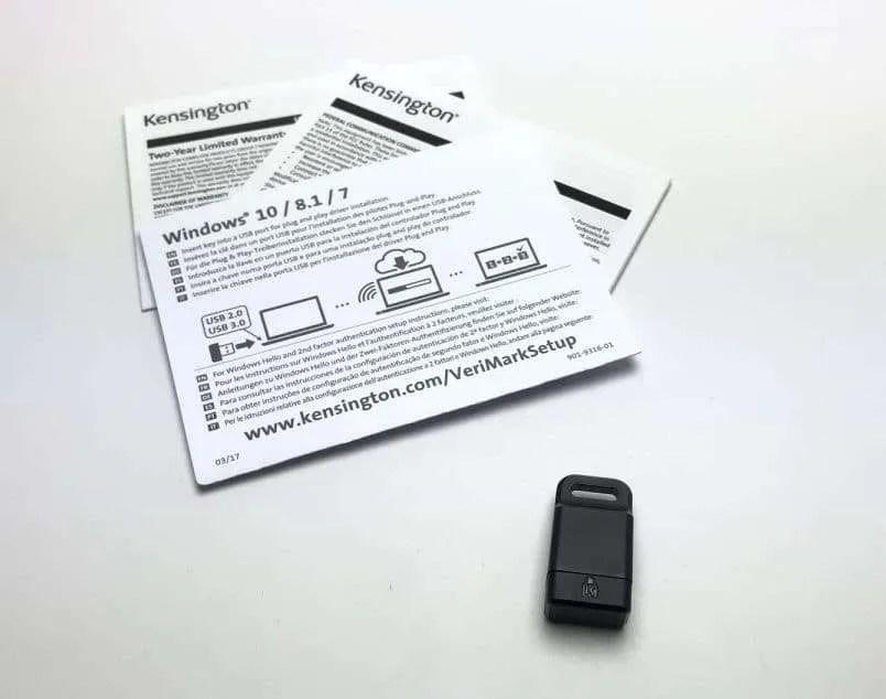 Kensington VeriMark Fingerprint Key REVIEW