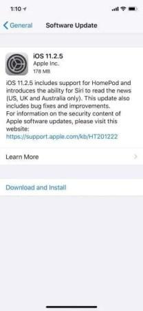 iOS Update NEWS