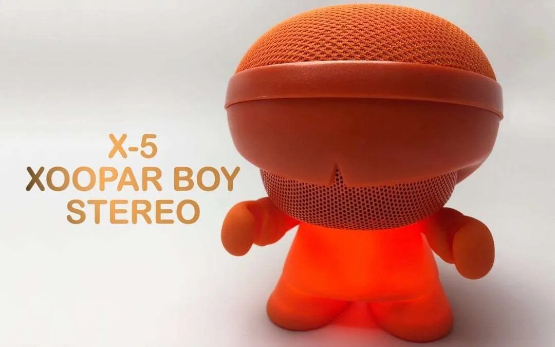 Xoopar Boy Stereo REVIEW Powerful Sound From A Tiny Little Robot
