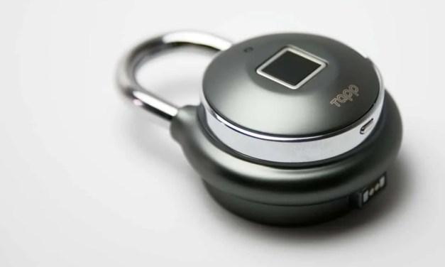 Tapplock One REVIEW Worlds First Smart Fingerprint Padlock