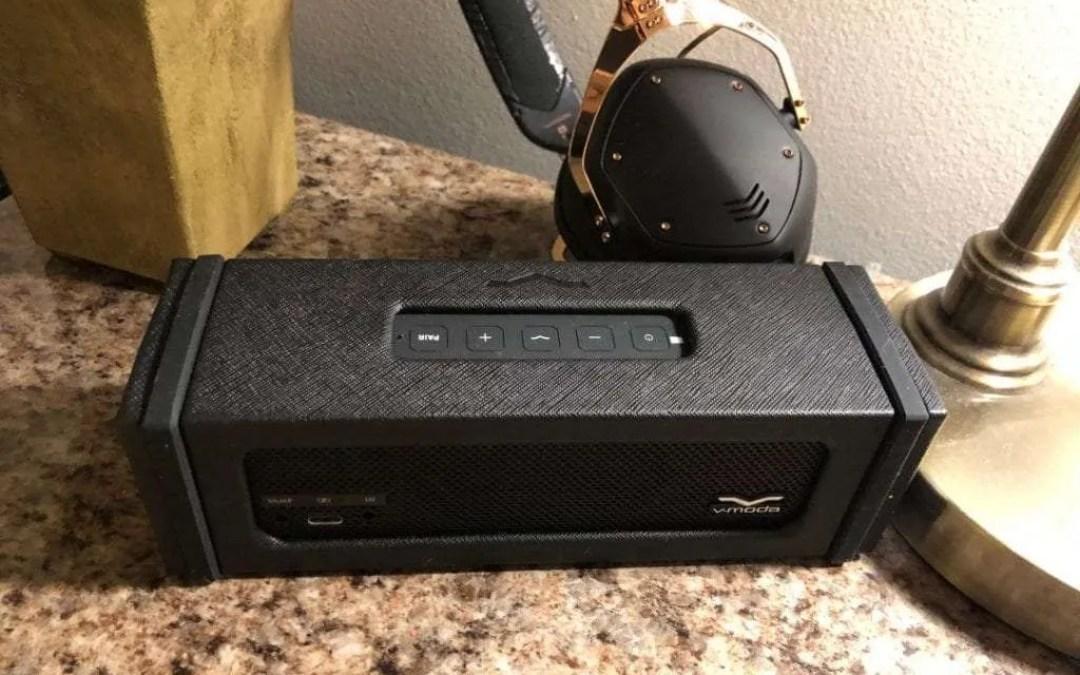 V-MODA Remix Wireless Bluetooth Speaker (Black) REVIEW