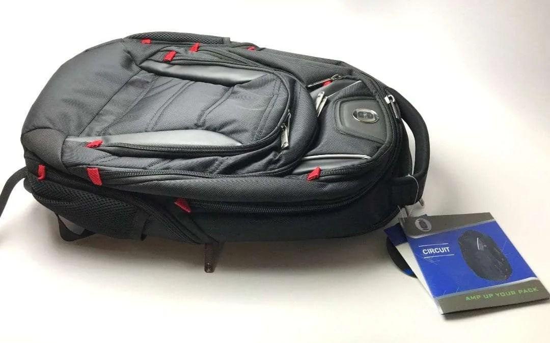 Swiss Digital Circuit Backpack