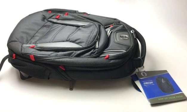 Swiss Digital Circuit Laptop Backpack REVIEW