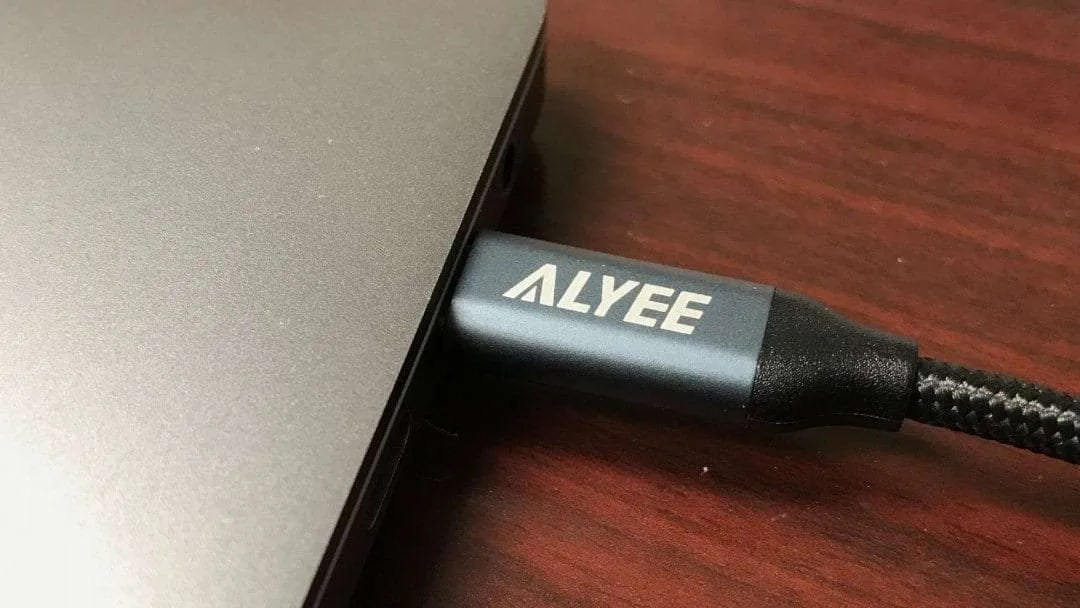 Alyee 6FT Nylon Braided USB-C Cable from Aimus REVIEW