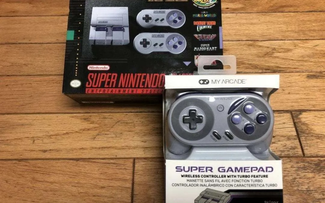 MY ARCADE Super Gamepad REVIEW Wireless Controller for SNES Classic Edition