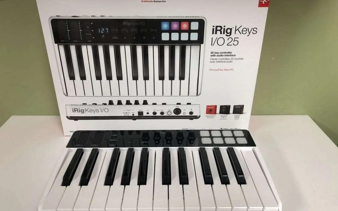 iRig Keys I0 25 REVIEW Great Potential but Difficult to Use