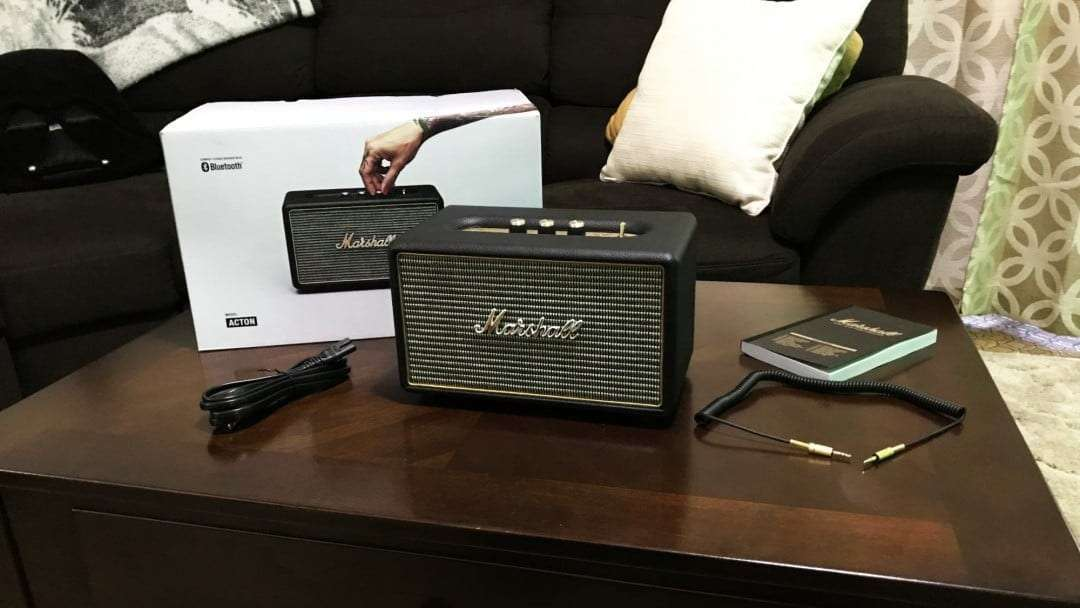Marshall Acton Bluetooth Speaker REVIEW