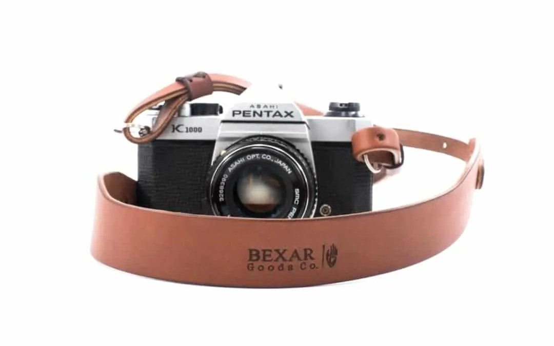 Bexar Vagabond Leather Camera Strap Now Available NEWS