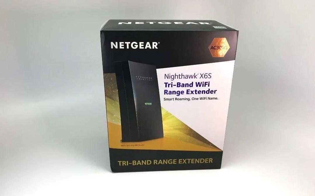 Netg Nighthawk X6S Tri Band | Asdela