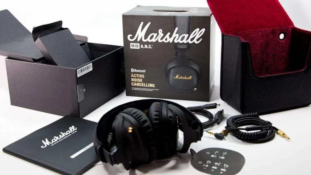 Marshall MID ANC Bluetooth Headphones REVIEW