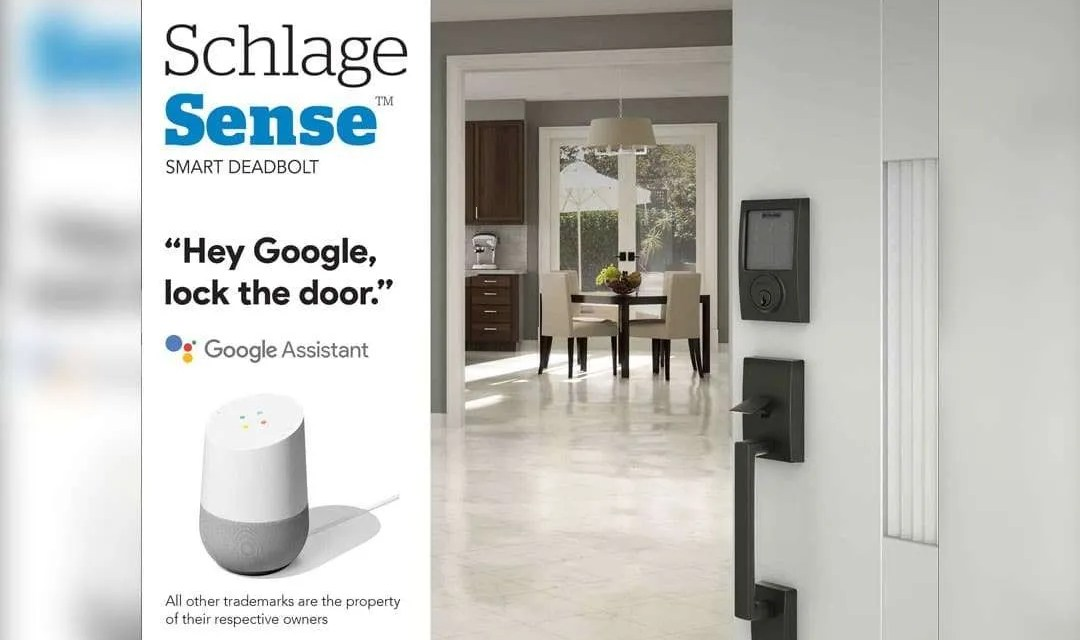 Schlage Gains New Google Home Capabilities NEWS