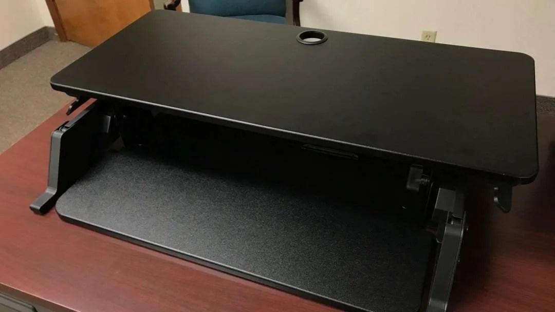 iMovR ZipLift Standing Desk Converter REVIEW