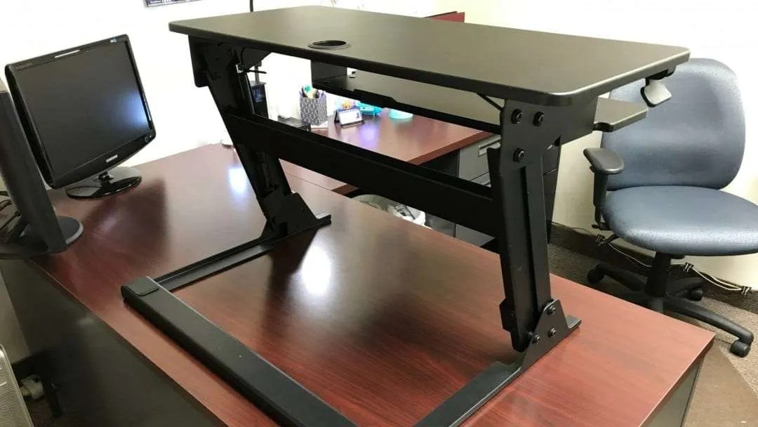 iMovR ZipLift Standing Desk Converter REVIEW