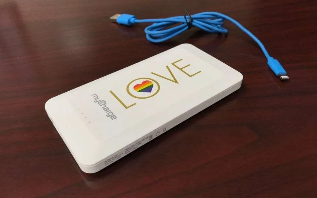 myCharge Home and Go Pride Edition Portable Battery REVIEW