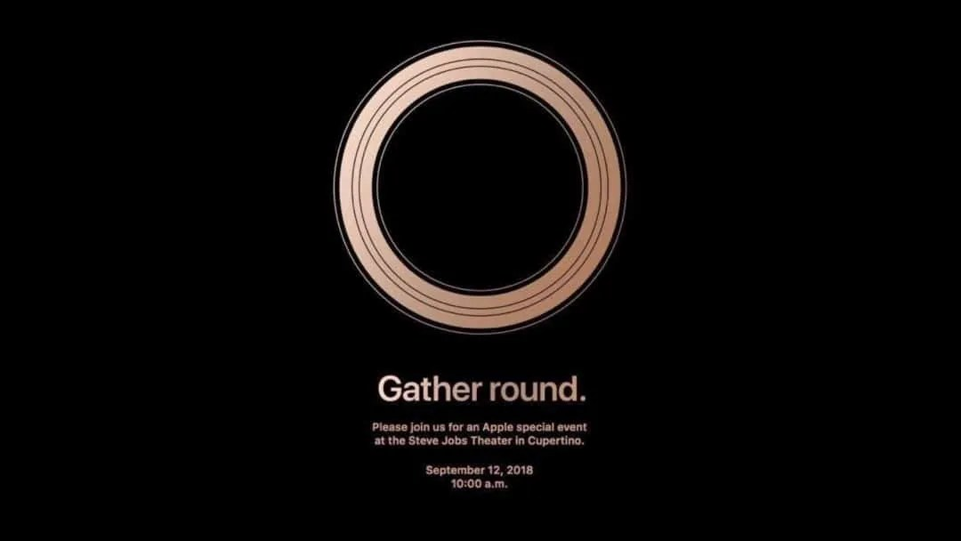 Apple Announces September 12 Event NEWS