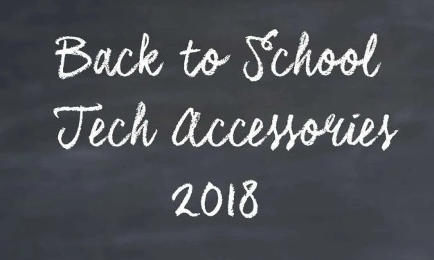 Back to School Tech Accessories to Start the Year off Right