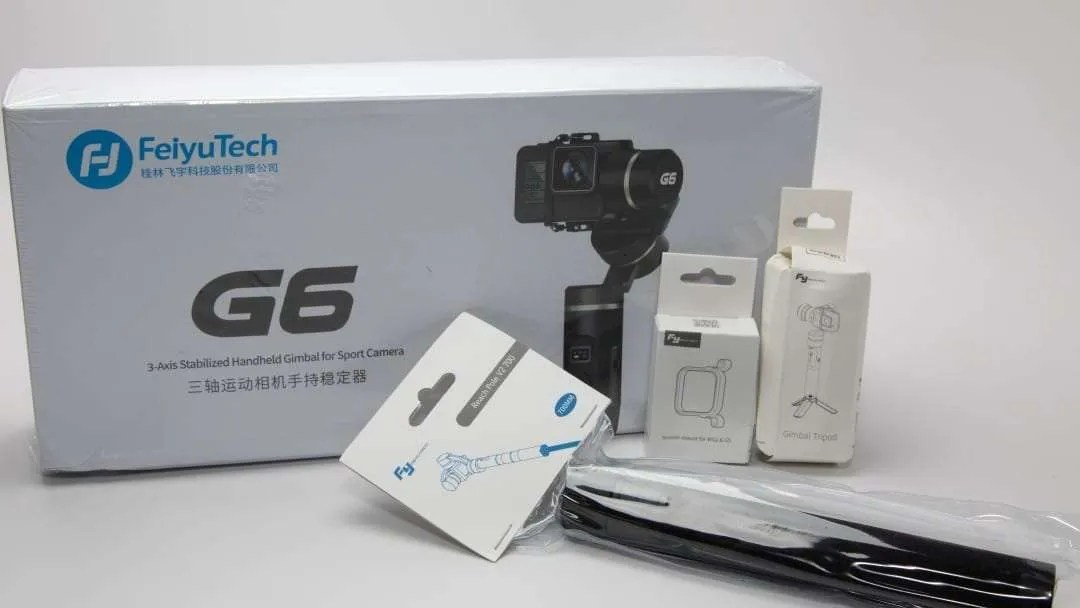 FeiyuTech G6 3-Axis Handheld Gimbal for Action Cameras REVIEW