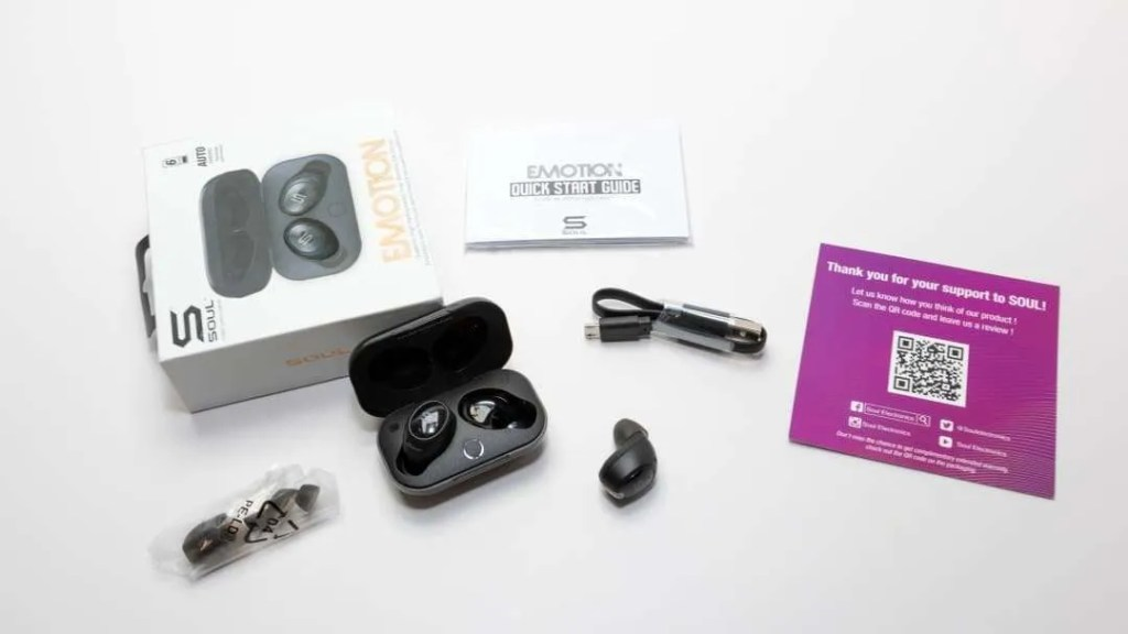 SOUL EMOTION True Wireless Earphones REVIEW