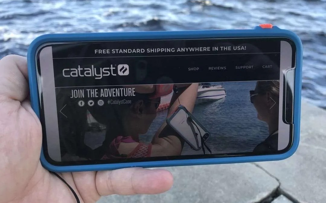 Catalyst Impact Protection iPhone Xs Max Case REVIEW Nature's Nemesis