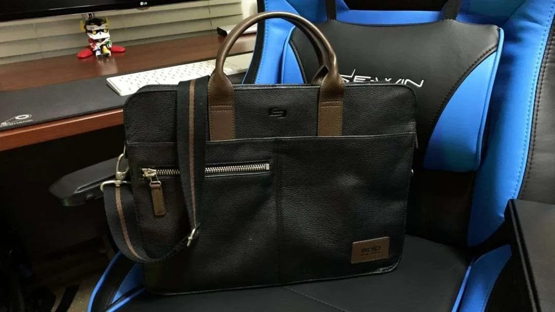 SOLO Brookfield Leather Slim Brief REVIEW