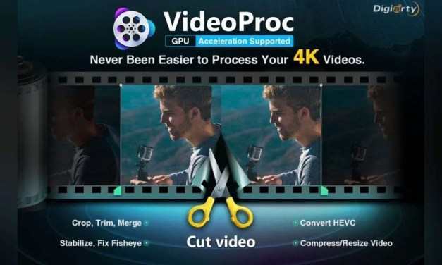 VideoProc – Process 4K Video from GoPro, DJI and iPhone at Full Speed
