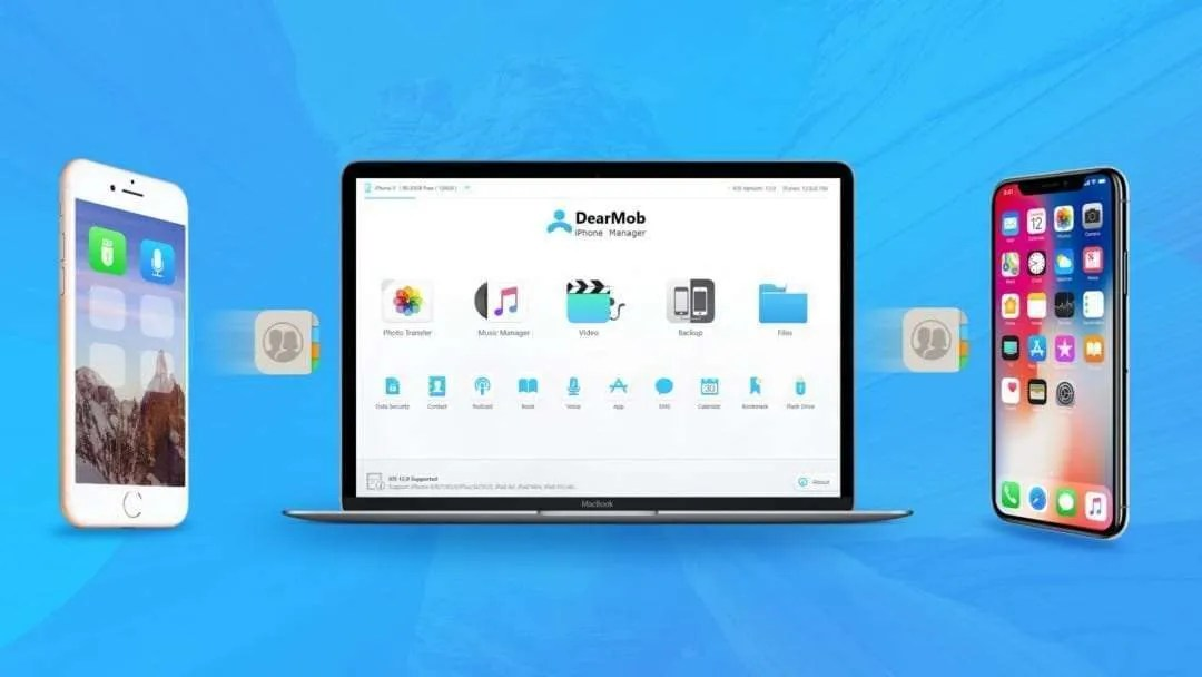 DearMob – How to Backup iPhone Contacts to Mac without