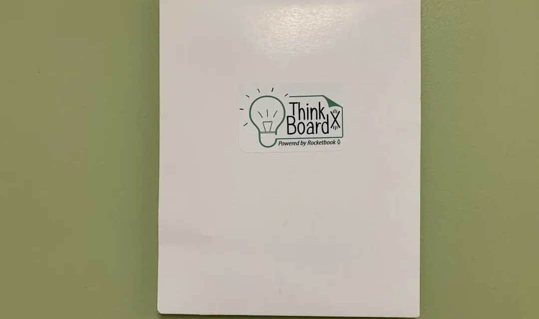 ThinkBoard X REVIEW Rocketbook Powered Whiteboard