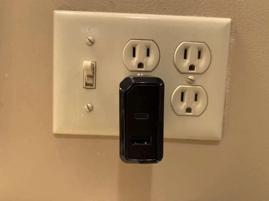 Scosche Powervolt wall charger