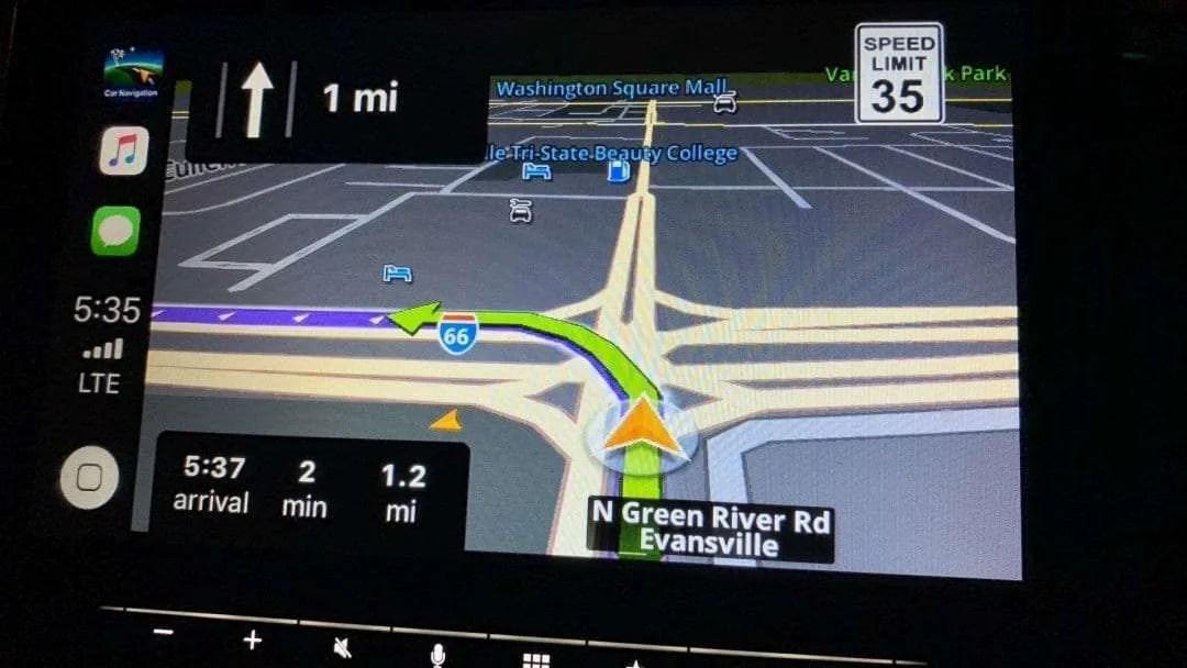 Sygic Car Navigation with CarPlay REVIEW