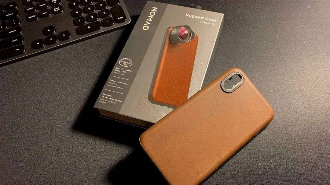 NOMAD Rugged Case iPhone XS – Moment Lens Reader REVIEW